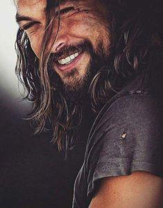 One of the most beautiful men on this earth, Jason Momoa Jason Momoa Aquaman, Aquaman Actor, Pretty People, Beautiful People, Beautiful Smile, Look Man, Hommes Sexy, Good Looking Men, Man Crush