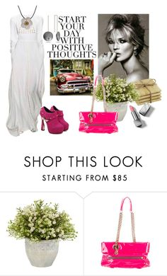 """START"" by samsalles ❤ liked on Polyvore featuring Christian Louboutin and Burberry"