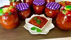 Słodko-kwaśny sos z cukinii Ketchup, Salsa, Food And Drink, Pudding, Blog, Jar, Desserts, Tailgate Desserts, Deserts