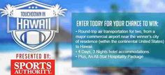 Win your next family vacation here by entering online sweepstakes to win prizes. You could win a vacation including airfare and hotel accommodations or cruise for up to a family of four. Win A Vacation, Win A Trip, Online Sweepstakes, Round Trip, Best Vacations, Transportation, Official Rules, Places To Visit, United States