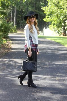 Plaid Fall Style Outfit