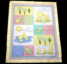 Spring Time Baby Quilt