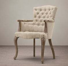 19th C. French Victorian Tufted Camelback Collection | RH
