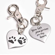 Pet Memorial Charm  LOVE OUR NEW PRODUCTS!  Come see our new product here: www.femailcreatio... #UniqueGifts #GiftsForWomen #Gifts #GiftsForAllOccassions #InspirationalGifts #NewProducts #Trendy #Sassy