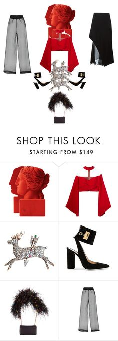 """""""In 2 minds 3"""" by palmgrass99 ❤ liked on Polyvore featuring Sophia, Balmain, Off-White, Christian Louboutin and Givenchy"""
