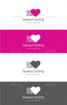 Speed Dating Logo — Vector EPS #dating #agency • Available here → https://graphicriver.net/item/speed-dating-logo/12923259?ref=pxcr