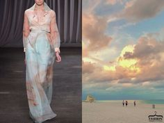 Stunning fusion of nature and fashion