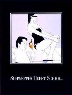 Dutch Schweppes poster by Patrick Nagel Patrick Nagel, Nagel Art, 80s Design, Like Image, Arte Pop, American Artists, Pop Art, Pin Up, Memes