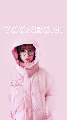 Look at our sugarpie <3 #YoonBomi #Bomi #Apink #PinkPanda #Panda #Apink #minimalistpink Apink Phone Wallpaper