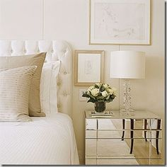 White and cream bedroom