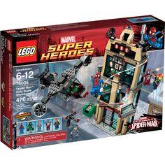 LEGO Super Heroes Spider-Man: Daily Bugle Showdown Play Set