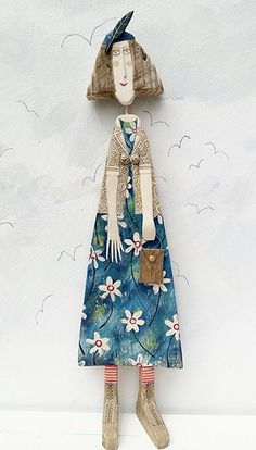 Lynn Muir wooden figure More Pins Like This At FOSTERGINGER @ Pinterest