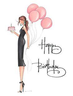 Happy Birthday Sms, Happy Birthday Woman, Happy Birthday Wishes Cards, Happy Birthday Flower, Birthday Messages, Birthday Greetings, Birthday Cards, Happy Birthday Illustration, Birthday Card Drawing