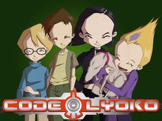 Code Lyoko , I totally miss this show D: I've always wondered why their foreheads were so big