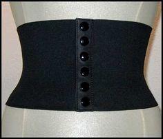 cinturón elástico de los 80