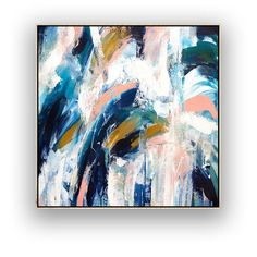Contemporary Art Original Painting on Canvas, Large Wall Art, Abstract Modern Decor, Extra Large Can Acrylic Painting Canvas, Canvas Art, Large Canvas, Large Painting, Original Art, Original Paintings, Art Paintings, Bathroom Paintings, Abstract Paintings