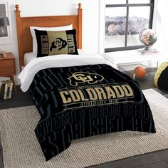 NCAA Northwest Modern Take Twin Comforter Set Colorado Buffaloes - 64 x 86 Gender: Unisex. NCAA Northwest Modern Take Twin Comforter Set Colorado Buffaloes - 64 x 86 Weighted Comforter, Twin Comforter Sets, Bedding Sets, Arizona, University Of Idaho, Getting Out Of Bed, Dorm Room, 1 Piece, Comforters