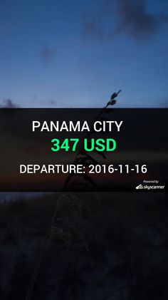 Flight from Seattle to Panama City by Air Canada #travel #ticket #flight #deals   BOOK NOW >>>