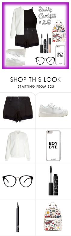 """""""Daily Outfit  #29"""" by niaoffcal ❤ liked on Polyvore featuring rag & bone, New Look, NARS Cosmetics and Anya Hindmarch"""