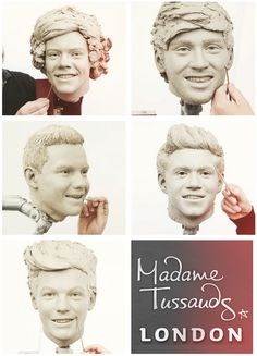 the boys work in progress waxworks for madame tussauds :)