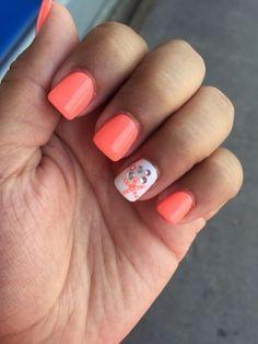 Pin by Kim McIntosh on Nails Nails, Fish nails, Beach nails nail ideas beach - Nail Ideas Beach Nail Designs, Short Nail Designs, Nail Designs Spring, Cute Nail Designs, Anchor Nail Designs, Nautical Nail Designs, Bright Nail Designs, Fingernail Designs, Spring Design