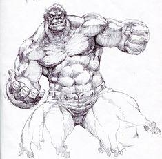 jumping hulk by on DeviantArt Comic Book Characters, Comic Book Heroes, Comic Character, Comic Books Art, Book Art, Character Design, Marvel Comic Universe, Marvel Comics Art, Hulk Marvel