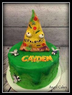 GROSSery Gang Birthday Cake by Angel Rushing