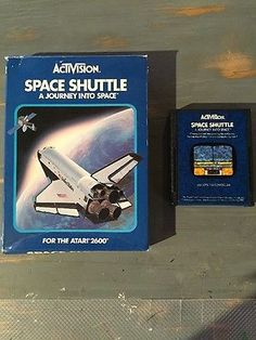 1983-ATARI SPACE SHUTTLE -2600 ACTIVISION-CARTRIDGE AND BOX. CLEAN ORIGINAL   eBay