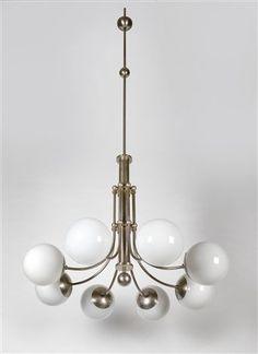 Art Deco ceiling lamp by Esprit Art Déco #artdeco