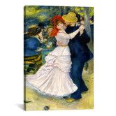 Found it at Wayfair - 'Dance at Bougival' by Pierre-Auguste Renoir Painting Print on Canvas, would love to hand Renoir dance prints on my wall