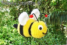 Crochet PDF Pattern- Crochet bee