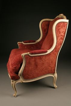 Types Of Living Room Chairs - Pair of Louis XV style wingback chairs Types Of Living Room Chairs, Blue Dining Room Chairs, Leather Dining Room Chairs, Accent Chairs For Living Room, Twin Sleeper Chair, Swivel Rocker Recliner Chair, Wingback Chairs, Arm Chairs, Sofa Chair
