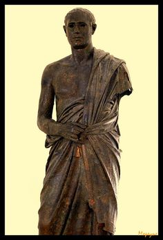 Senator.Roman period.3rd.cent.A.D. by mxpeyne, via Flickr Roman Republic, Roman Empire, Art And Architecture, Les Oeuvres, Statues, Period, History, Antiques, Roman Art