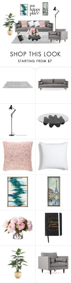 """""""livingroom"""" by nhungnguyen-vi ❤ liked on Polyvore featuring interior, interiors, interior design, home, home decor, interior decorating, Joybird, Anglepoise, Waverly and Pine Cone Hill"""