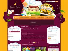 DJ Education Free Joomla Template For Education for institutions involved in work with children. It can be used both by schools and other organization engaged in the development of children's arts telents. The joomla component DJ-Catalog2 used here will be up to a task, because it can present the most interesting works of young artists. The template is designed in two colour options setting in template's parameters. The default background colour is yellow, the other option is purple.