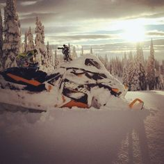 The life snowmobiling