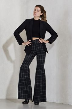 The Leaf Pant - If you've ever thought you were born in the wrong era, these puppies are for you. They'll give you that 70's vibe and they fit like a glove - pliers optional. These are ultra high waist bells with a hook/zip closure in the back, a super slim fit and no stretch to the fabric. Add a little flare to your wardrobe.