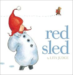 Red Sled by Lita Judge #Books #Kids