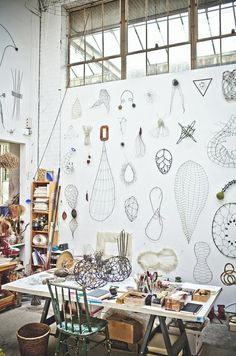 i wish my studio looked like this!