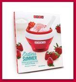 Libro de recetas helados cremosos Zoku