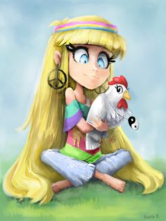 """Pacifica by RiaFire  I like this """"hippie"""" version much more than her snooty attitude in the series..."""