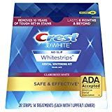 Crest White Glamorous White Whitestrips Dental Teeth Whitening Strips Kit, 14 Treatments - Lasts 6 Months & Beyond: Beauty Personal Care Best Sellers Teeth Whitening Remedies, Natural Teeth Whitening, Whitening Kit, Crest Whitening, Crest 3d White, Tooth Sensitivity, Dental Teeth, Dental Implants, Dental Care