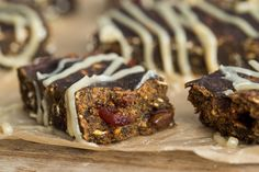 Pumpkin Gingerbread Snack Bars-- Oh She Glows- These were simply amazing! (I didn't add the glaze, so they could be even more amazing.) Of course I love just about anything gingerbread. The cranberries are nice addition; these are a real winter treat!