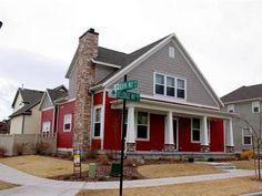 exterior paint colors red | paint colors | Pinterest | Exterior ...