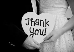 Wedding Thank You Cards - Creative Wedding Photos | Wedding Planning, Ideas & Etiquette | Bridal Guide Magazine