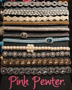 Love the headbands by Pink Pewter! Get yours today at Kymistry Studio!