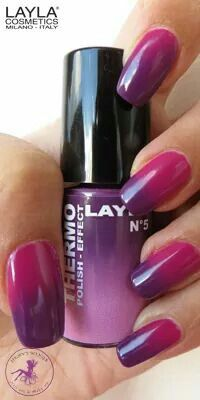 THERMO EFFECT . 05 DARK TO LIGHT VIOLET. www.laylacosmetics.ro