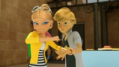 even adrien thinks chloe's a you-know-what...