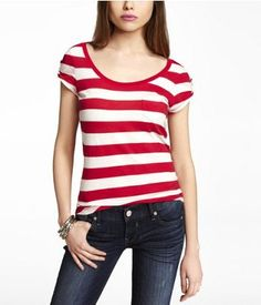 Comfy & cute tee --- thank you, Express!
