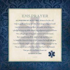 EMS Prayer <3